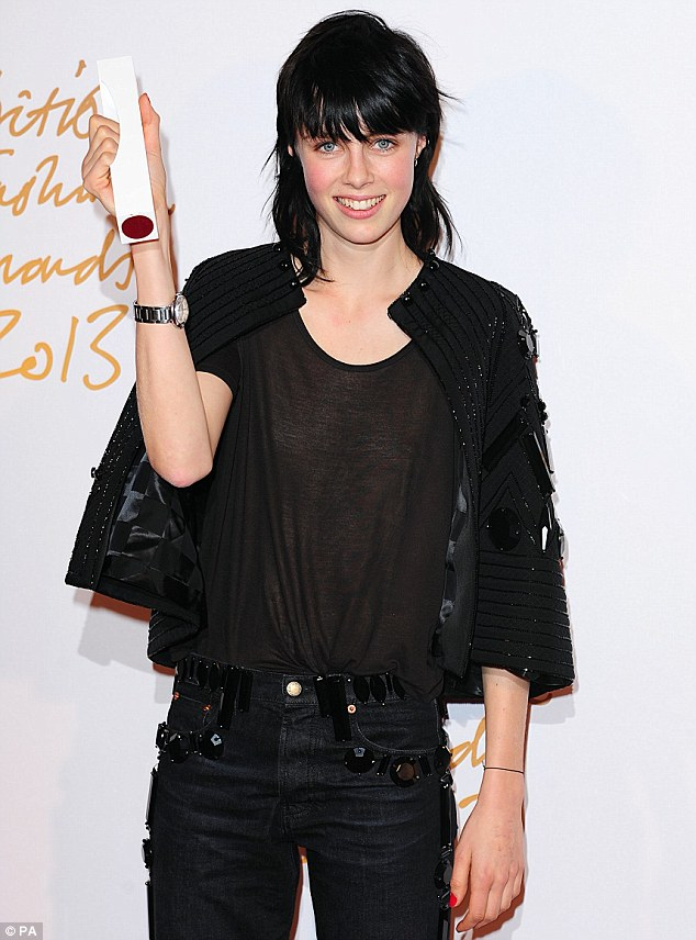 Move aside, Cara! Edie Campbell has been honoured with the prestigious Model of the Year title at the 2013 British Fashion Awards