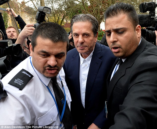 'Heartbroken': Charles Saatchi arrives at court last week to give evidence to the trial. He said he had 'no evidence' that Nigella took drugs