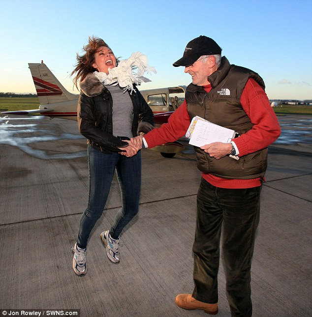 Image result for CELEBRATING PASSING PRIVATE PILOTS FLIGHT TEST
