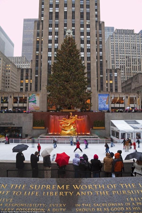 History Of Rockefeller Center Christmas Tree Daily
