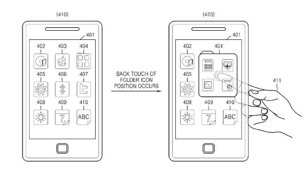 Samsung file patent for revolutionary new phone technology