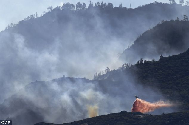 Wildfires like this August 2013 disaster near Banning, California bring volunteer firefighters out of the woodwork to risk their lives