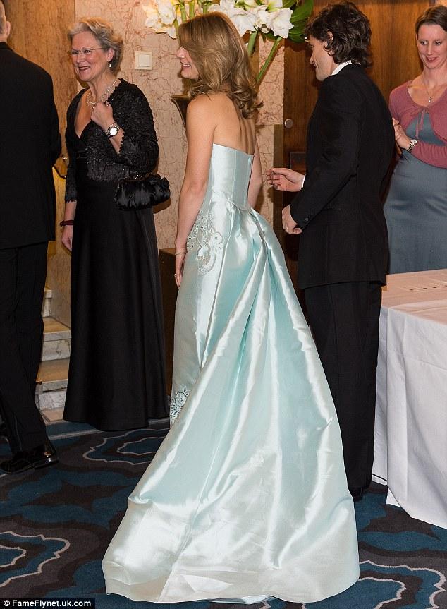 Claire Danes joins husband Hugh Dancy at Nobel banquet
