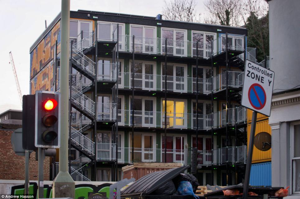 Cargo Container Apartments
