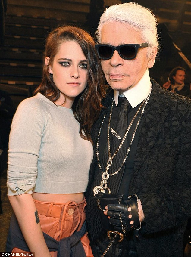 Cowgirl-chic: Kristen Stewart has been announced as the face of Chanel's new Western-inspired fashion collection