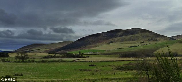 Palace: Yeavering, now a desolate site near the Scottish border, was a thriving royal complex in Oswald's time