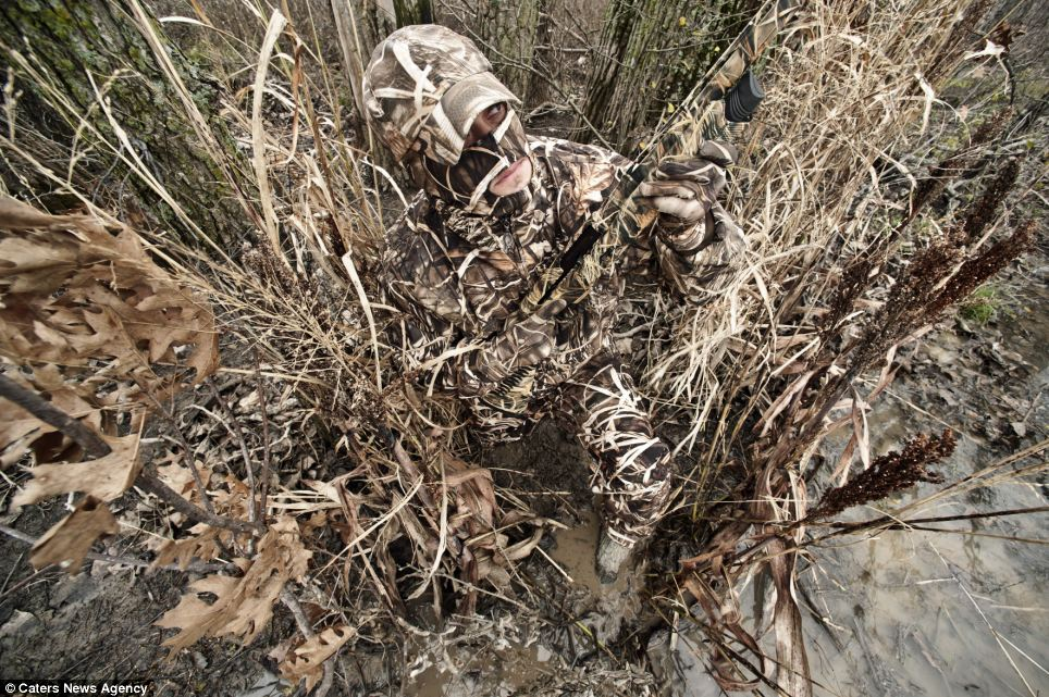 camouflage suits that make