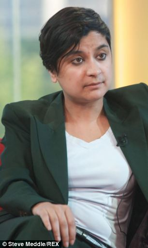 Apology: Leader of Liberty - formerly the NCCL - Shami Chakrabarti has offered a public apology for the scandal