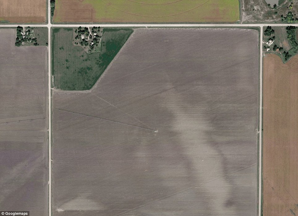 Nebraska: Greenlief Training Site - Current footprint of the Nebraska National Guard Training Site. Formerly home to the largest naval munitions plant from 1942-1946