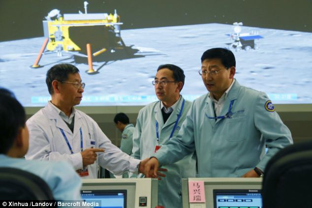 The government has been critised for providing aid to China, which is so wealthy it has sent a rocket to the moon