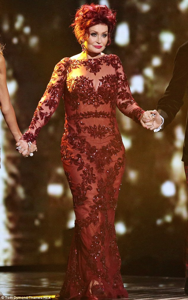 X Factors Sharon Osbourne Takes Fashion Inspiration From