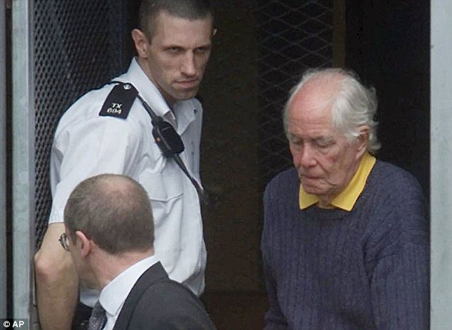 Return: Biggs being transported to court after he came back to Britain in 2001