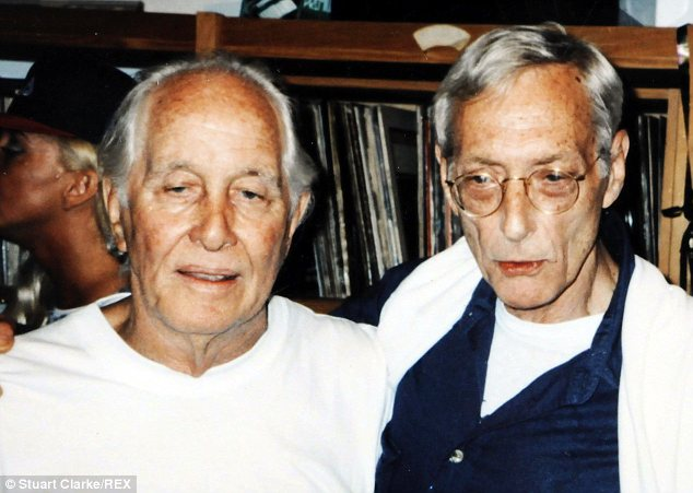 Reunion: Biggs with Bruce Reynolds, said to be the mastermind of the robbery, at his 70th birthday party
