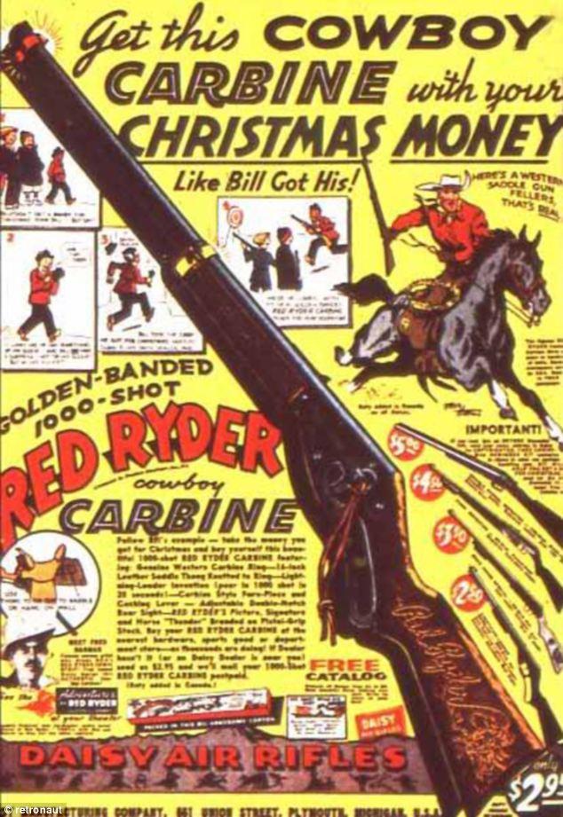 Gee dad a Winchester Vintage gun adverts from an era