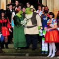 Encouraged to dress up for their big day held at priory hall dudley