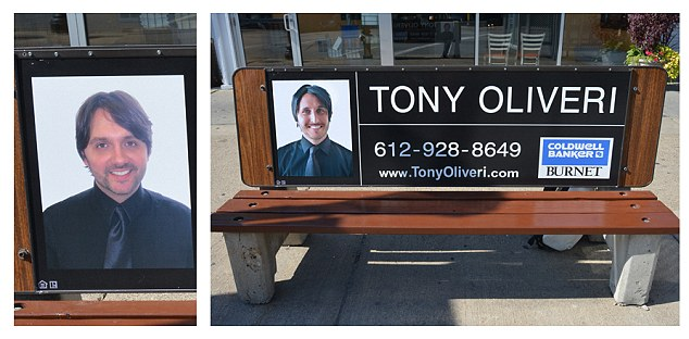Comedian Replaces Mugs Of Real Estate Agents With Own Face