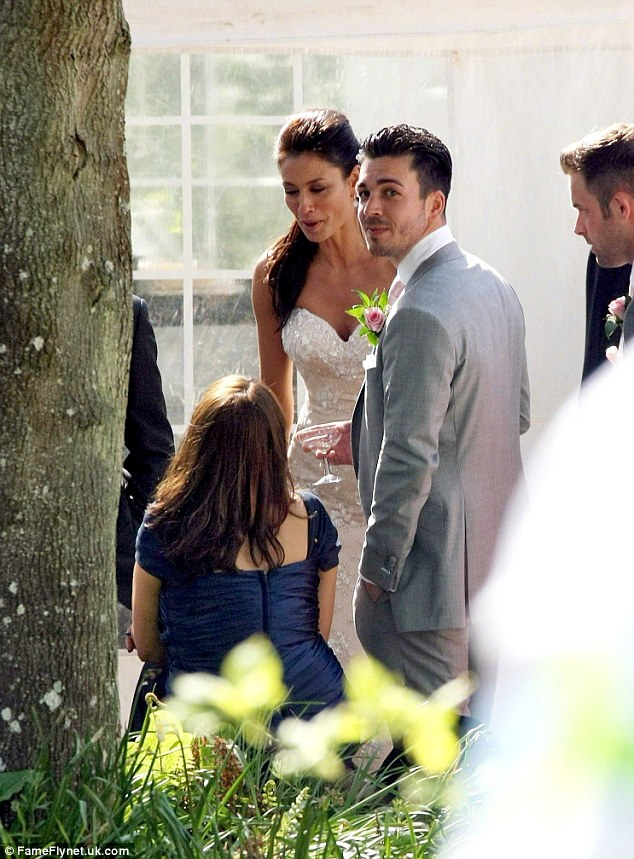Happier times: Melanie Sykes and Jack Cockings married in May 2013