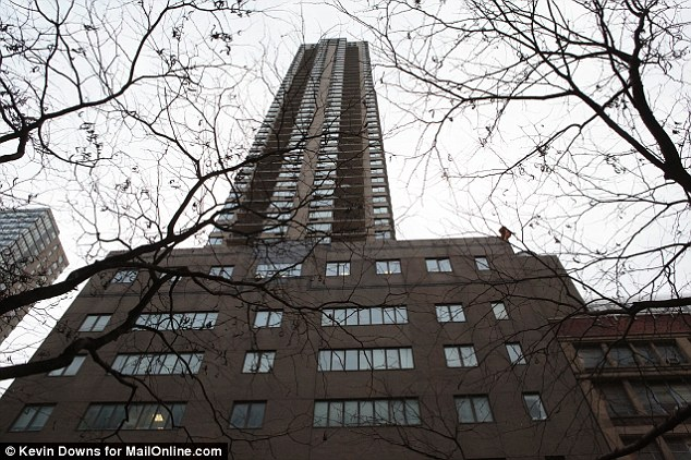 Tragedy: A 35-year-old man and a three-year-old boy are dead after reportedly jumping from this midtown building