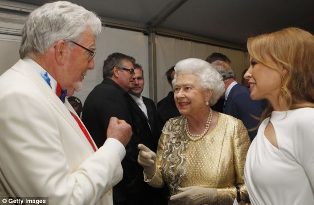 Harris has painted a portrait of the Queen and performed at her diamond jubilee concert last year