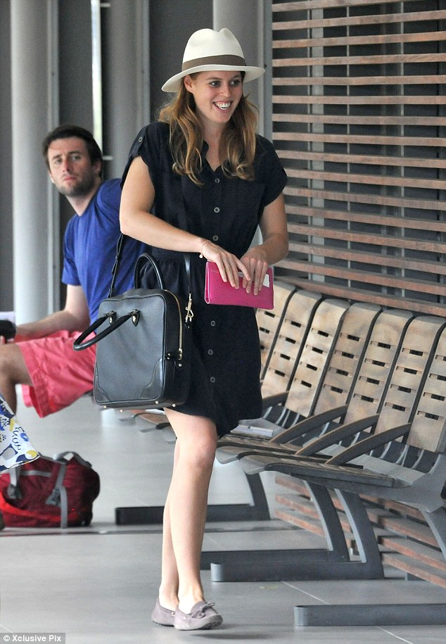Princess Beatrice Kicks Back At The Beach With Friends