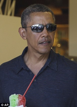 President Obama Looks Miserable On Hawaii Vacation Daily