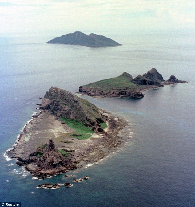 Senkaku islands, the small island cluster on the East China Sea, which Japan, China and Taiwan all claim sovereignty over