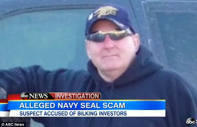 In the know: True Navy SEALs had been trying to put an end to Dicken's lies but it was too late for a number of investors who helped him launch a security company that took hundreds of thousands of dollars to run