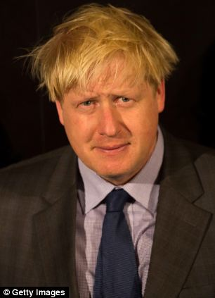 Pipped to the post: Boris Johnson
