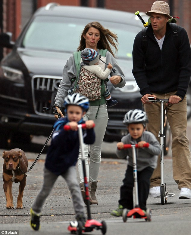 Gisele Bundchen Reveals Family Life With Tom Brady Is Just