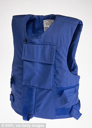 One of the technological advances that humans have aliens to thank for are Kevlar vests