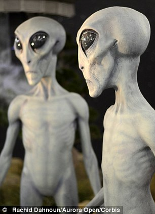 Hellyer described one group of aliens as 'Short Greys' who have very slim arms and legs and are about five feet high with large heads