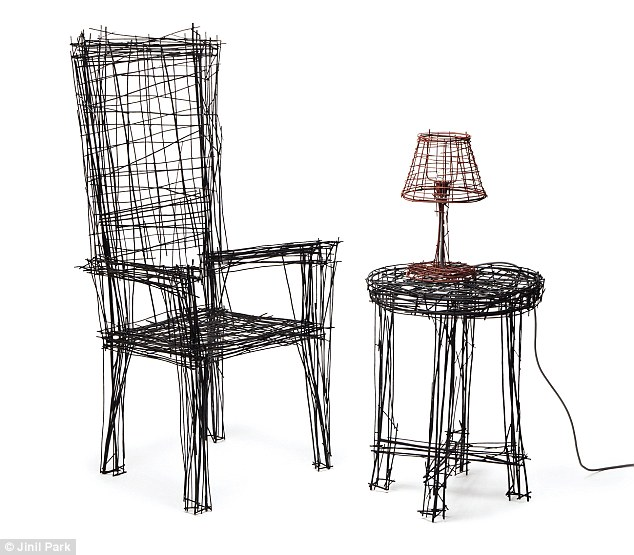 Which is a sketch and which is a real chair? Incredible