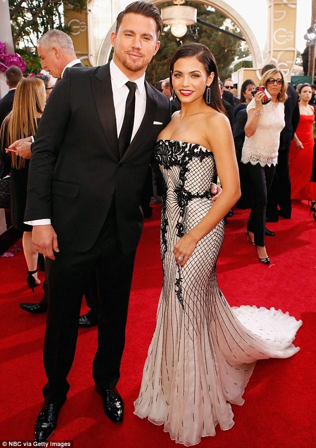 Jenna Dewan Tatum Upstages Dapper Husband Channing In