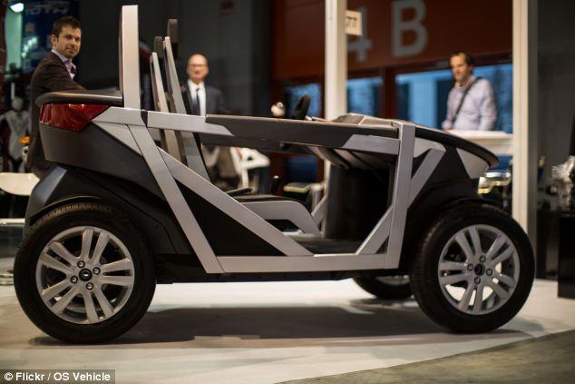 El coche se puede construir en cientos de diferentes configuraciones, desde convertibles a variantes todoterreno