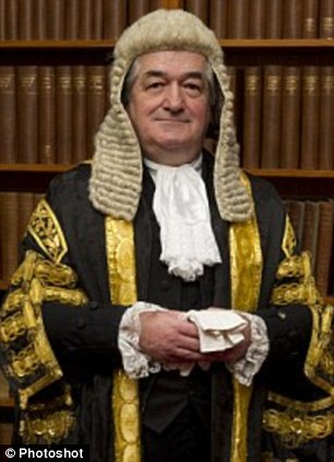 Landmark ruling: President of the Family Division Sir James Munby