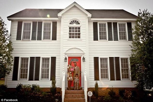 Shock: la familia de los testigos de Jehová se mudó a la hermosa casa, en la foto, en 2012