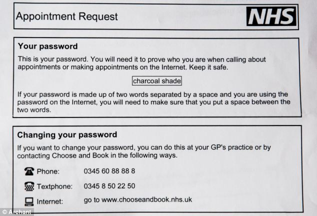 Leanda Probert Black Disabled Woman Sent NHS Password Charcoal Shade Same Difference