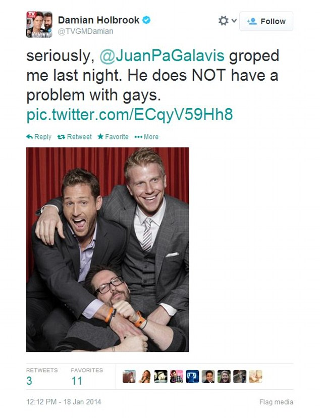 Supporter Damian Holbrook Senior Writer For Tv Guide Magazine Who Happens To Be Gay