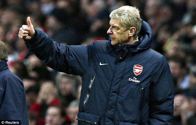 Loyalty: Arsene Wenger is set to sign a new three-year deal with Arsenal