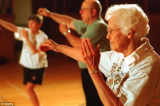 elderly chairs chair covers argos even in your 90s, exercise can help: tests find who did vigorous fitness work had ...