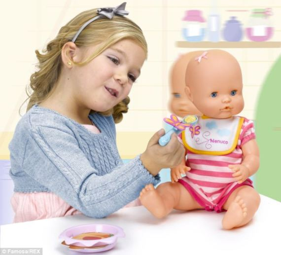 Eating disorder charities are calling for a doll - called 'Nenuco Won't Eat' - which turns its head away when offered food to be banned. They are worried it could normalise eating disorders
