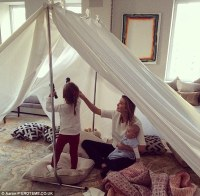 Ivanka Trump, Arabella and baby Joseph camp out in the ...