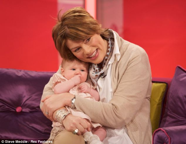 Kate Silverton 'stunned to be having baby number two ...