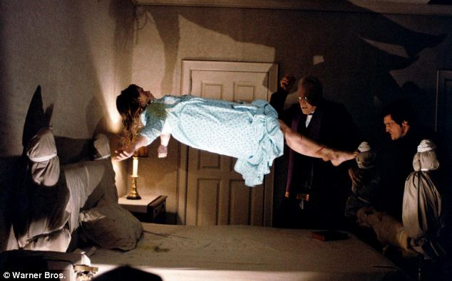 Ritual: Ammons went through 3 exorcisms, as famously depicted by the 1973 movie, The Exorcist, pictured