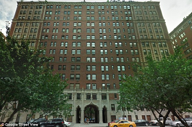 Links: Mr Broeksmit is linked by U.S. documents to an apartment in this building, yards from Central Park