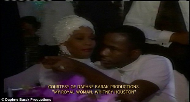 Intimate: Whitney and Bobby Brown's tempestuous wedding ended in  2006 after a fiery marriage spent in the spotlight