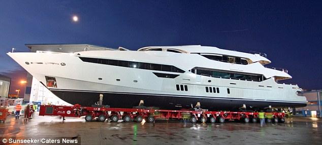 Eddie Jordan Spends 32MILLION On A New 155ft Superyacht