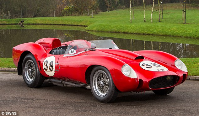 World Most Costly Car Wallpaper That S One Pricey Prancing Horse 1957 Ferrari Testa Rossa