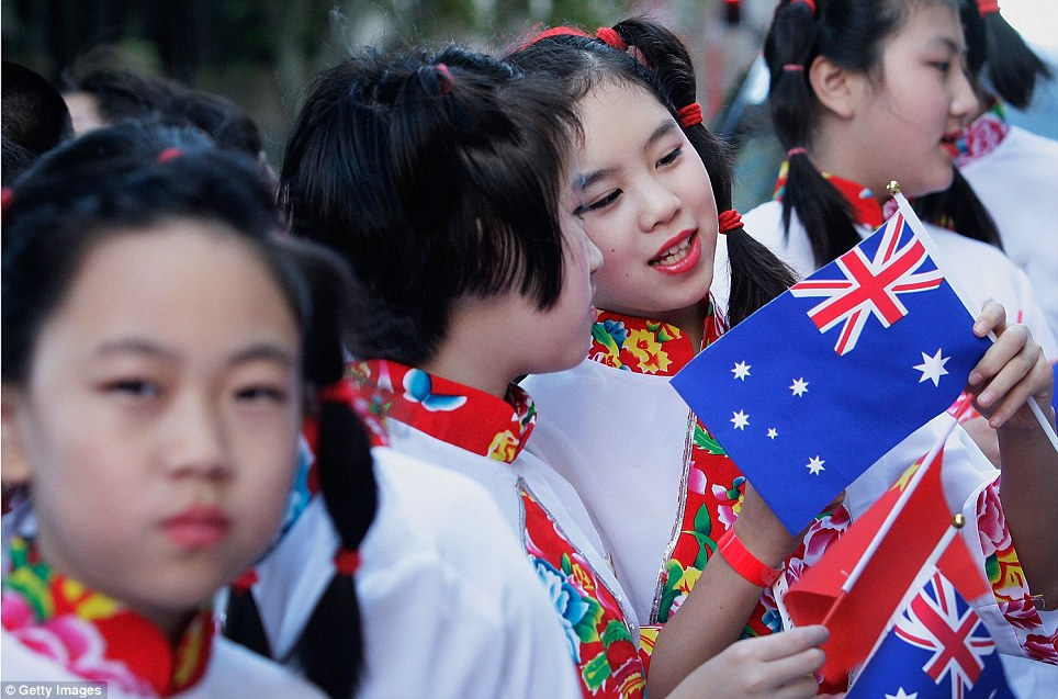 Children in Sydney prepare to perform in the celebrations on Sunday: Chinese New Year begins on 31 January and runs for a week