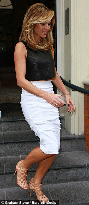 Amanda Holden Heads To Britains Got Talent Auditions With